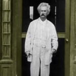 Mark Twain na jedynym istniejącym filmie zarejestrowanym przez Thomasa Edisona