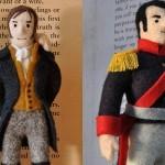 Filcowe kukiełki z kart klasyki literatury