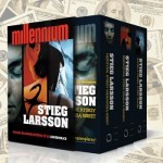 Trylogia Stiega Larssona zarobiła w tym roku ponad 10 milionów euro