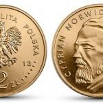 W kwietniu NBP wyemituje monety z Cyprianem Norwidem
