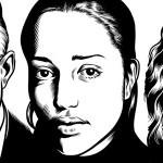 Portrety słynnych pisarzy autorstwa Charlesa Burnsa