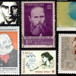 Słynni pisarze na znaczkach pocztowych