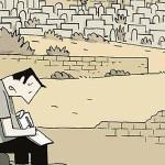"""Metropolia paradoksów – recenzja komiksu """"Kroniki jerozolimskie"""" Guya Delisle'a"""