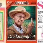 Słynni pisarze na okładkach czasopism
