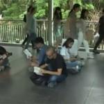 """Tajlandia: protestują przeciwko juncie, czytając """"Rok 1984"""" Orwella"""