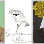 Fascynujące autoportrety słynnych pisarzy