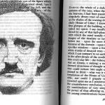 Portrety słynnych pisarzy namalowane w ich książkach