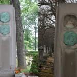 Skradziono tablicę z grobu Marka Twaina