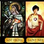 Słynni pisarze przedstawieni jako święci