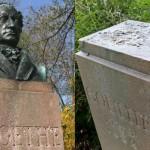 Skradziono popiersie Goethego