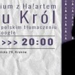 """""""Ubu Król"""" w pierwszym polskim tłumaczeniu translatora Google dzisiaj w krakowskim Teatrze Barakah"""