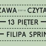 """W 2016 roku warszawiacy przeczytają """"13 pięter"""" Filipa Springera"""