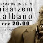 """Kryminalne """"Dramatorium"""" z komisarzem Montalbano dziś w krakowskim w krakowskim Teatrze Barakah"""