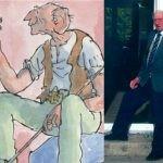 Tak wyglądał prawdziwy BFG! Oto człowiek, który zainspirował Dahla do stworzenia postaci z kart słynnej książki