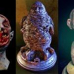 Przerażające rzeźby inspirowane niesamowitymi opowieściami H.P. Lovecrafta