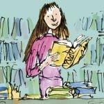 Ilustrator Quentin Blake pokazał, co porabiałaby 30-letnia Matylda z powieści Roalda Dahla