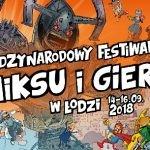 29. Międzynarodowy Festiwal Komiksu i Gier w Łodzi już w najbliższy weekend!