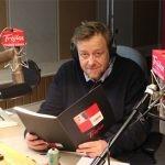 """Olaf Lubaszenko czyta w radiowej Trójce kryminał """"Mock. Golem"""" Marka Krajewskiego"""