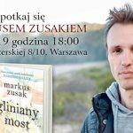 Markus Zusak w Warszawie ? transmisję spotkania z australijskim pisarzem będzie można zobaczyć w sieci