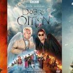 """Wygraj płyty DVD z serialem """"Dobry omen"""" na podstawie powieści Neila Gaimana i Terry?ego Pratchetta! [ZAKOŃCZONY]"""
