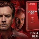 """""""Doktor Sen"""" – premiera kontynuacji """"Lśnienia"""" Stephena Kinga na 4K UHD Blu-ray, Blu-ray i DVD"""