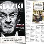 """Najnowsze """"Książki. Magazyn do czytania"""" z kanonem literackim """"Na lepsze jutro"""" i Salmanem Rushdiem na okładce"""