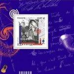 Francuska poczta świętuje 100-lecie urodzin Borisa Viana okolicznościowym znaczkiem
