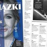 """Nowy numer """"Książek. Magazynu do czytania"""" z J.K. Rowling na okładce już w sprzedaży"""