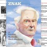 """Wiesław Myśliwski bohaterem październikowego numeru miesięcznika """"Znak"""""""