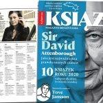 """Przedświąteczne wydanie """"Książek. Magazynu do czytania"""" z Davidem Attenborough na okładce w sprzedaży od 1 grudnia"""