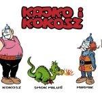Kajko i Kokosz przypominają o zasłanianiu ust i nosa w gdańskich autobusach i tramwajach