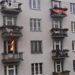 Marsz Niepodległości w Warszawie: pożar w pracowni znanego witkacologa, spłonęły materiały do wystawy