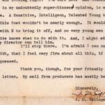 Syn J. D. Salingera walczy o usunięcie listu pisarza opublikowanego w internecie