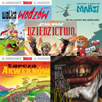 Październikowe komiksy z Egmontu