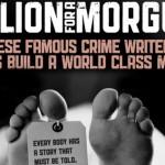 Autorzy kryminałów zbierają pieniądze na kostnicę