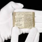Rękopis Charlotte Brontë z dzieciństwa sprzedany za ponad milion dolarów