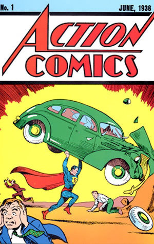 "okładka ""Action Comics #1"""