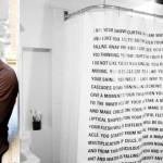 Dave Eggers opublikował… zasłonę prysznicową