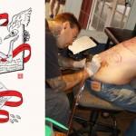 Neil Gaiman napisał wiersz na tatuaż dla fana