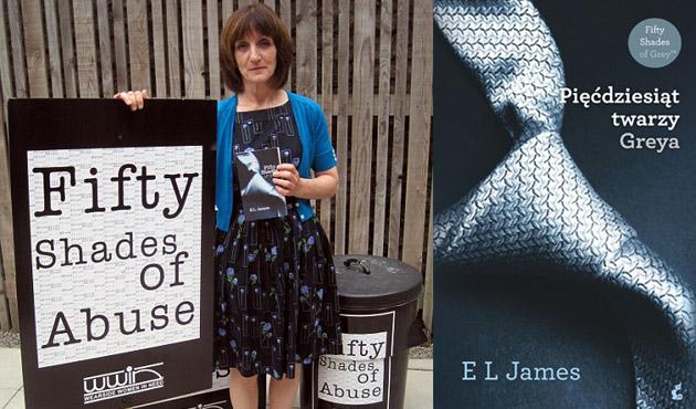 """50 twarzy Greya"""" podręcznikiem przemocy domowej?"""