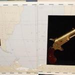 Pistolet ukryty w książce podarowanej bibliotece