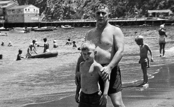 John Fante z synem