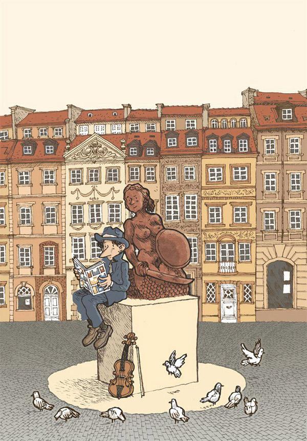 4. Komiksowa Warszawa - plakat