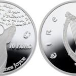 Centralny Bank Irlandii uczcił Jamesa Joyce?a, wypuszczając monetę z? błędem