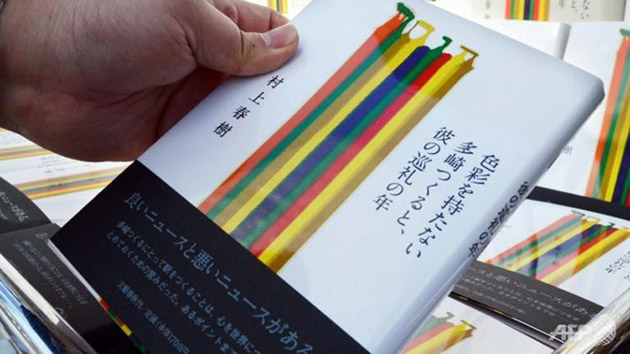 nowa powieść Murakamiego osiagnęła milion