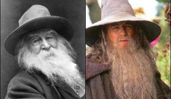 Walt Whitman jak Gandalf