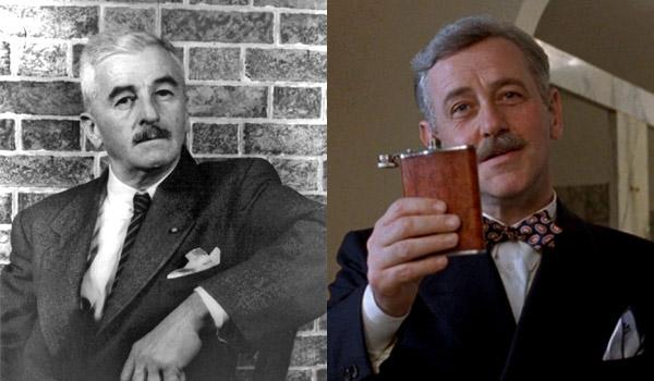 William Faulkner jak John Mahoney