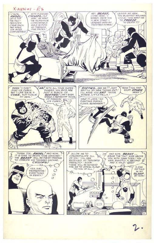 X-men # 1 - strona 2