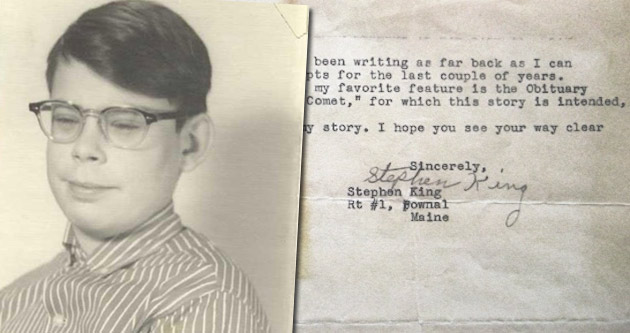 14-letni Stephen King