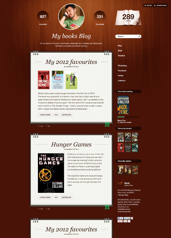 BooklLkes - blog 3